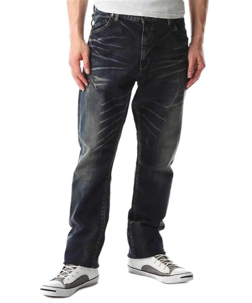 BIG JOHN 「CHILLING」ロークロッチストレート メンズ 濃加工色