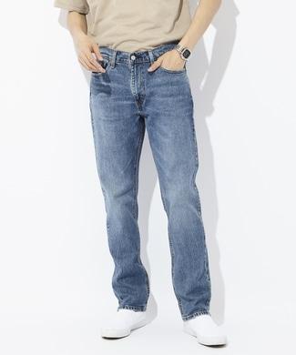 Levi's 「541」アスレチックテーパードデニムパンツ メンズ 中濃加工色