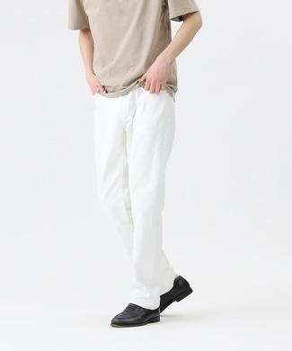 EDWIN 【自宅で試着、返品送料無料】「503」レギュラーストレートパンツ ホワイト