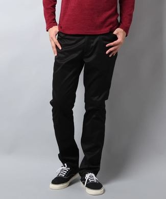BEN DAVIS テーパードワークパンツ メンズ ブラック