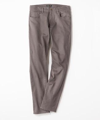 PLUS ONE 【WEB限定】24色スキニーパンツ メンズ【店舗裾上げ不可】 ダークグレー