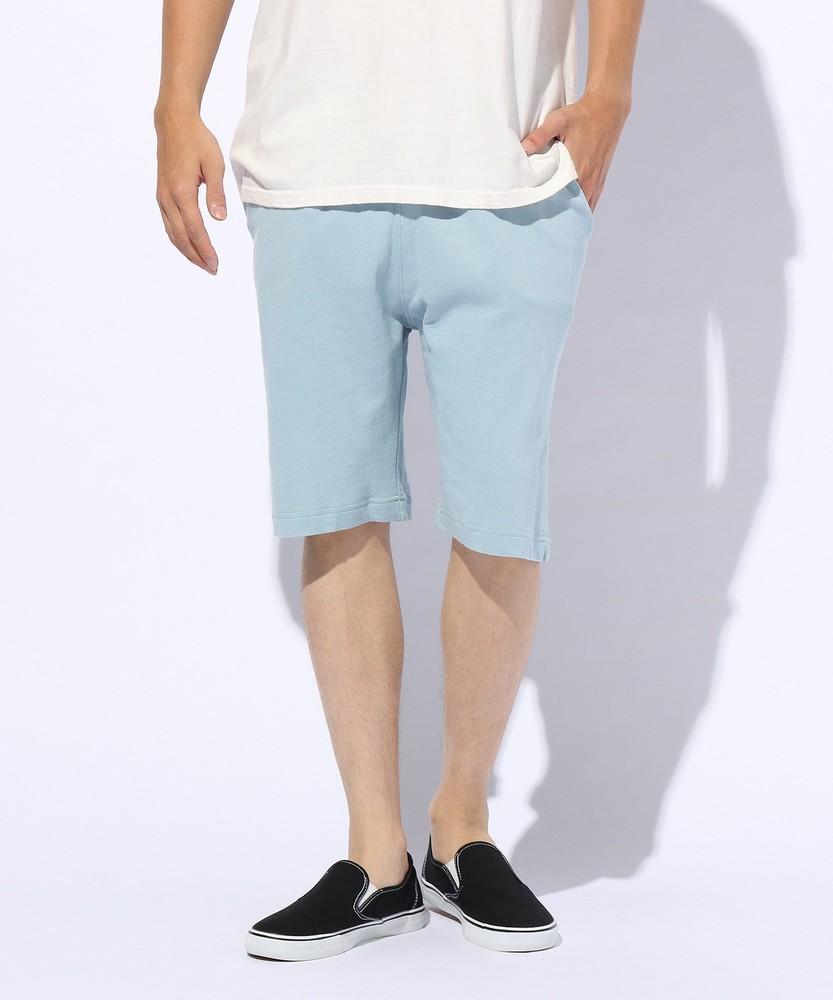 未入力 カットフェードショートパンツ メンズ サックス