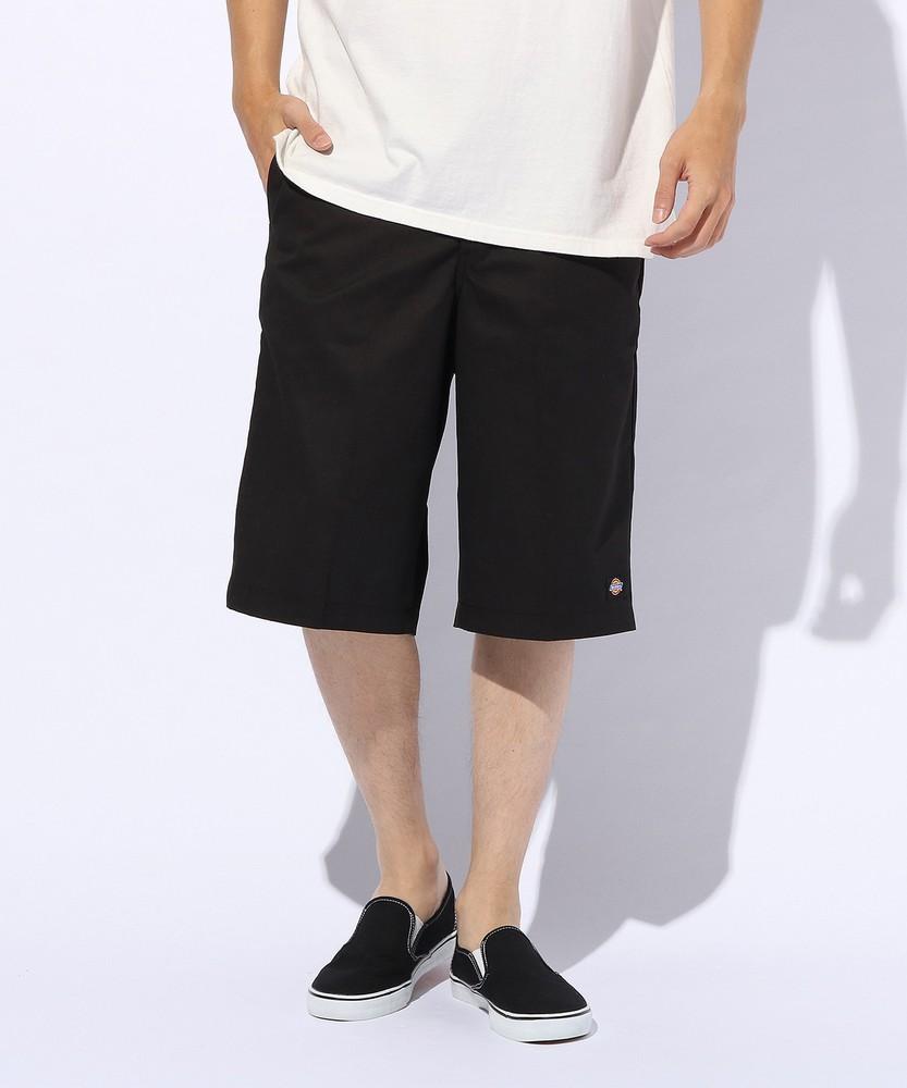 Dickies ワイドショートパンツ メンズ ブラック