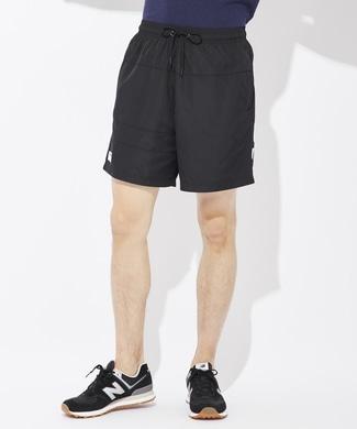 New Balance アスレチックウーブンショートパンツ メンズ ブラック