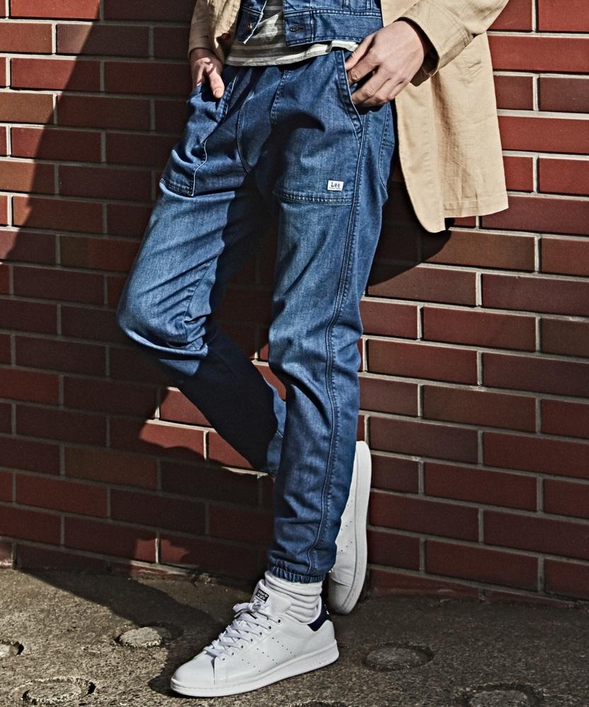 Lee ベイカーイージーパンツ メンズ 濃加工色