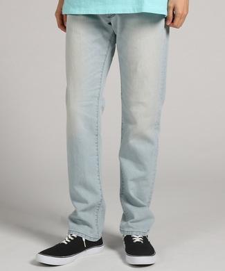 EDWIN 「JERSEYS」 ジャージーズ ブリーチテーパードパンツ メンズ 淡加工色