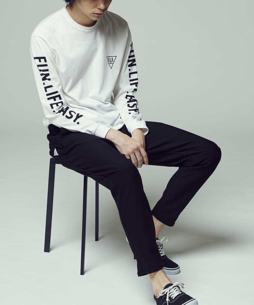EDWIN F.L.EスポーツEASYパンツ メンズ ブラック