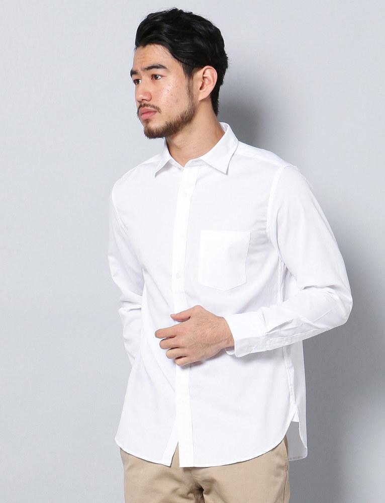 HARVARD ワイドカラーシャツ メンズ ホワイト