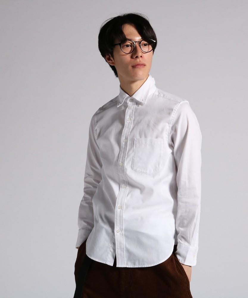 HARVARD ボタンダウンシャツ メンズ ホワイト