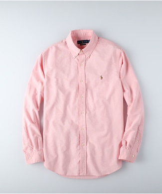 RALPH LAUREN POLO オックスフォードシャツ メンズ ピンク