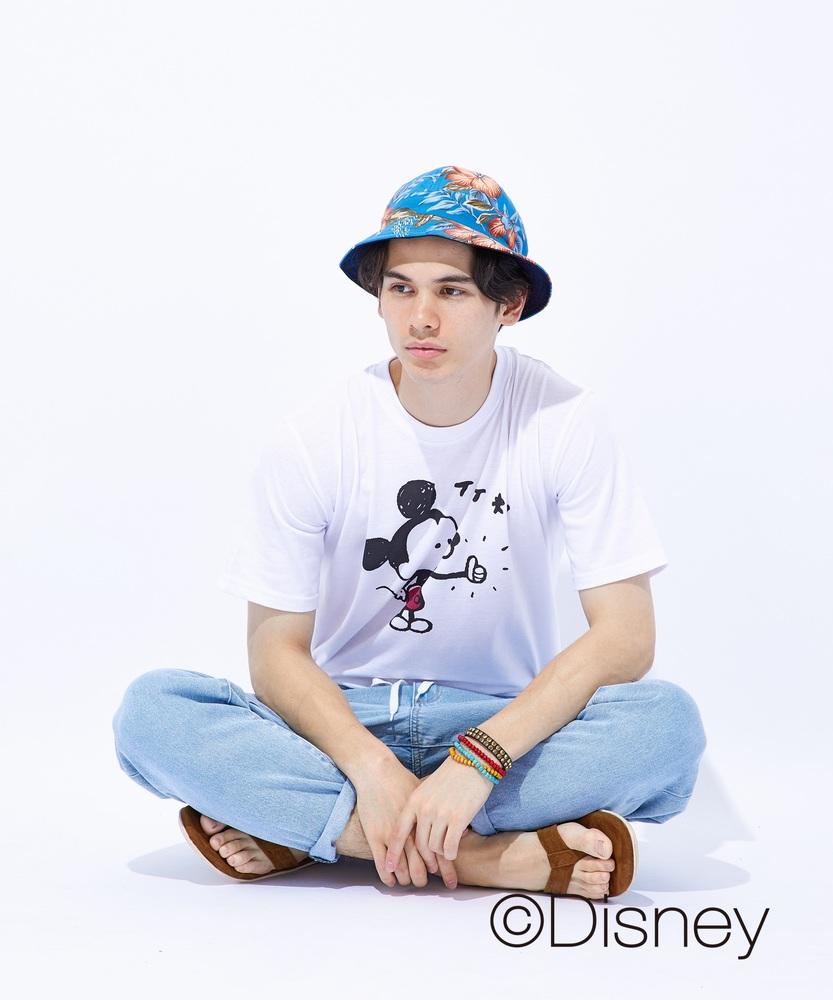 Other ミッキービヨンドプリントTシャツ メンズ ホワイト