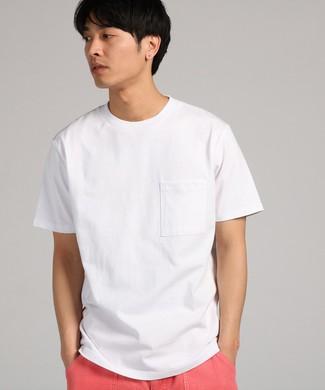 GOOD WEAR 【WEB限定】ポケット付キベーシックTシャツ メンズ ホワイト