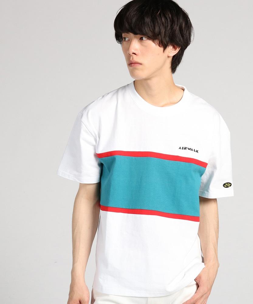 AIRWALK プリントショートスリーブTシャツ メンズ ホワイト