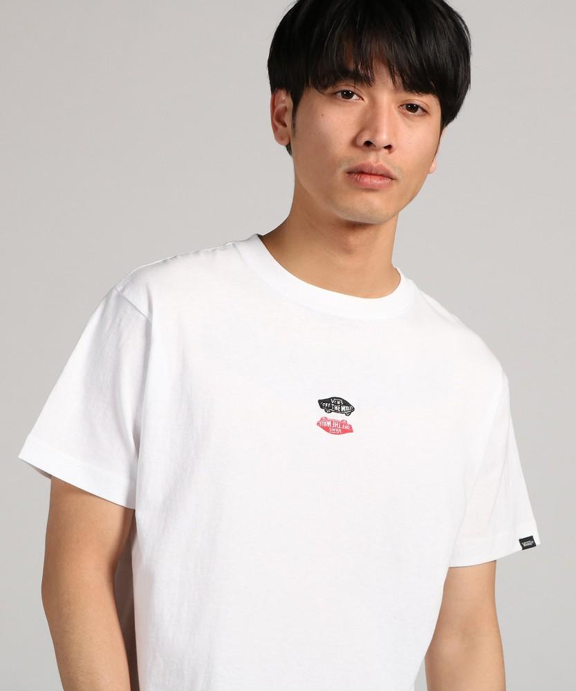 VANS 【WEB限定】ワンポイントTシャツ メンズ ホワイト