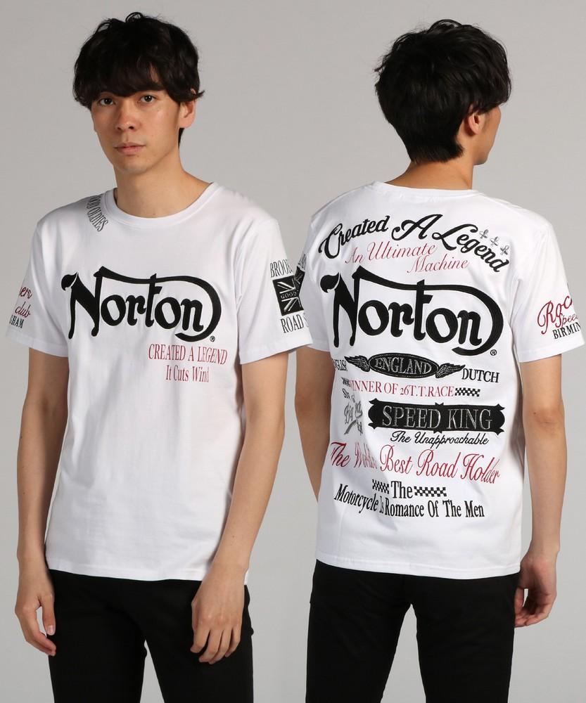 Norton マックスTシャツ メンズ ホワイト