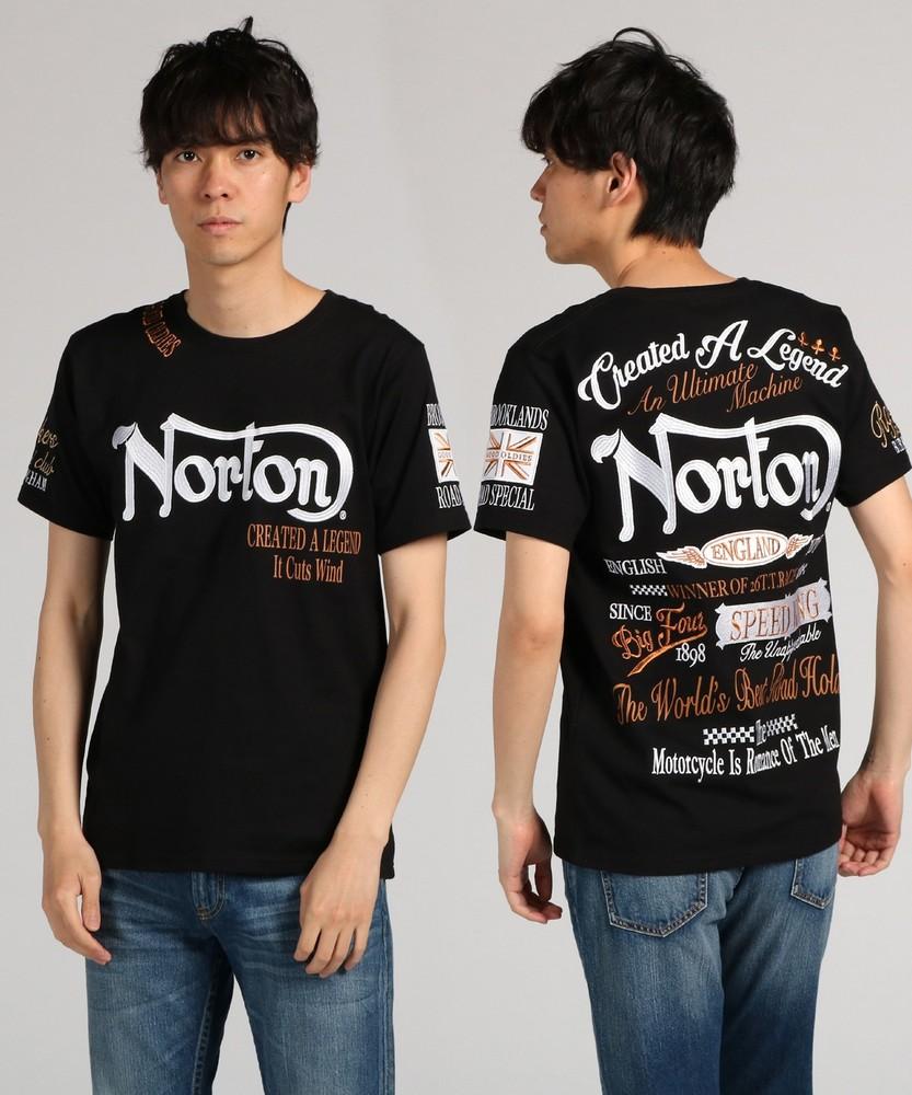 Norton マックスTシャツ メンズ ブラック