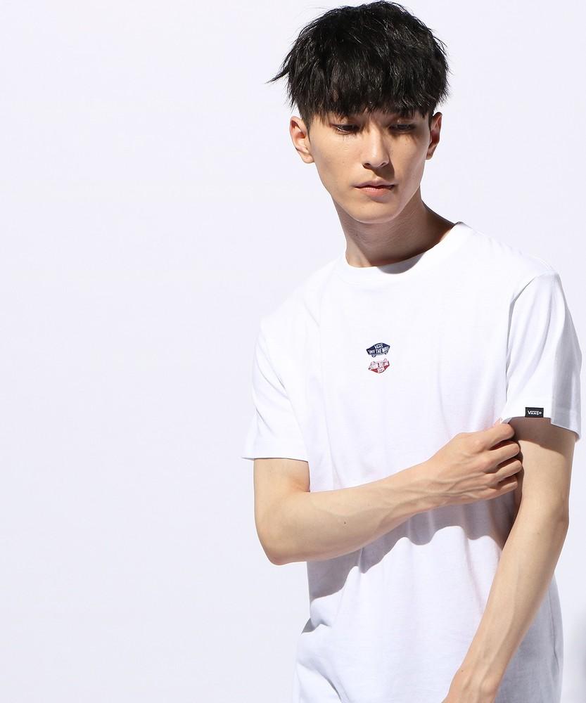VANS OFF THE WALL リバーサルTシャツ メンズ ホワイト