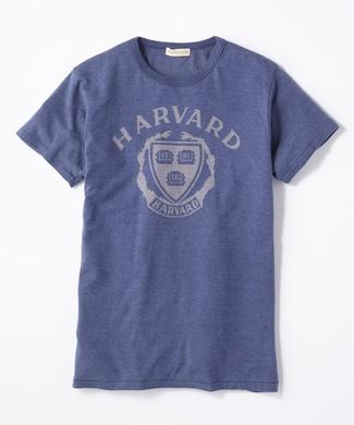 HARVARD 70'sロゴTシャツ メンズ ネイビー
