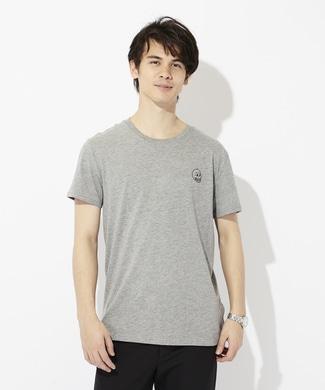 CHEAP MONDAY ワンポイントロゴTシャツ メンズ グレー