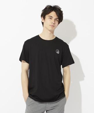CHEAP MONDAY ワンポイントロゴTシャツ メンズ ブラック