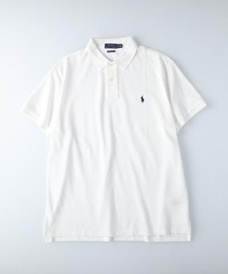 RALPH LAUREN POLO ワンポイントポロシャツ メンズ ホワイト