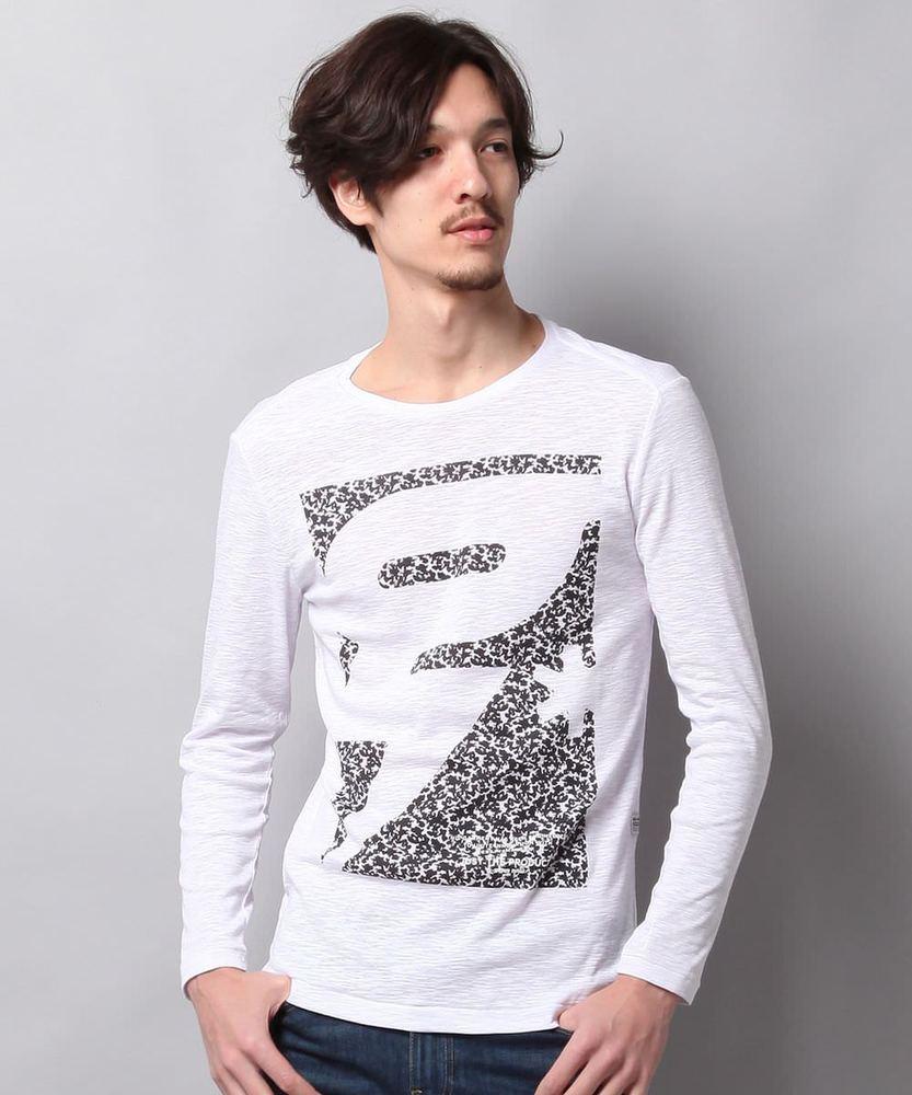 G-Star RAW スラブTシャツ メンズ オフシロ