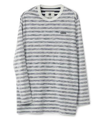G-Star RAW 「GSRD」ボーダーTシャツ メンズ ブルー