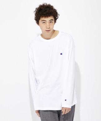 Champion 【WEB限定】ロングスリーブTシャツ メンズ ホワイト