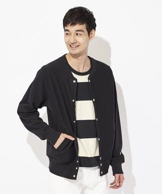Champion 【ライトオン40周年記念限定モデル】スナップジャケット メンズ ブラック