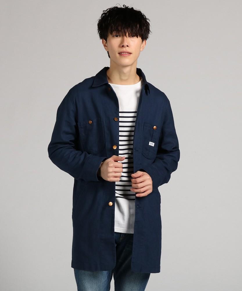 Lee 【WEB限定】ワークコート メンズ ネイビー