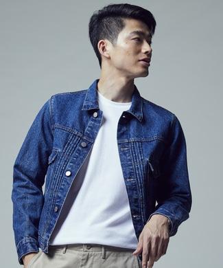 BACK NUMBER 【期間限定20%OFF】「和紙デニム」デニムジャケット メンズ 濃加工色