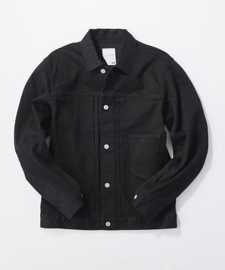 EDWIN 【期間限定20%OFF】「E-FUNCTION」 デニムジャケット メンズ ブラック