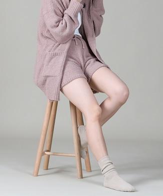HONEYSUCKLE ROSE モコモコルームウェアショーツ レディース ピンク