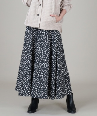 HONEYSUCKLE ROSE ボリュームスカート レディース ブラック*ホワイト