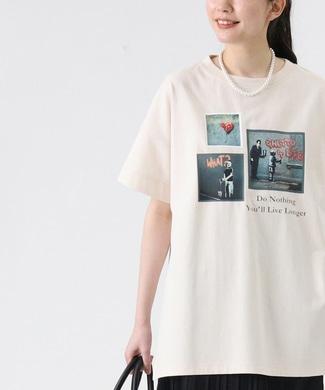 BRANDALISED エンボスプリントTシャツ バンクシー オフシロ