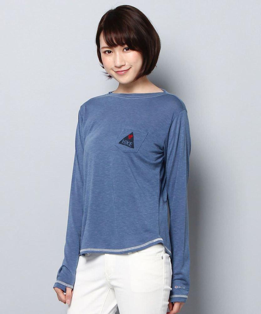 Marmot 【WEB限定】スローマウンテンロングスリーブTシャツ レディース ブルー