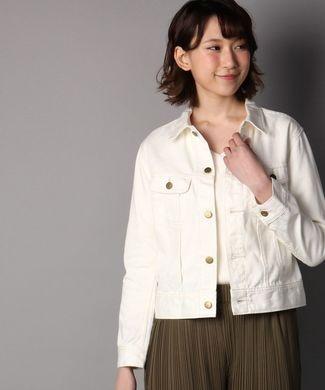 Lee ホワイトデニムジャケット レディース ホワイト