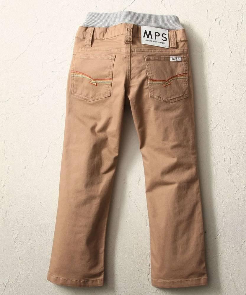 MPS 【WEB限定価格】 レインボー5ポケットパンツ キッズ ベージュ