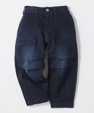 SOMETHING 【ライトオン限定】バルーンワイドベーカーパンツ(ジュニアサイズ150cm) キッズ 濃加工色