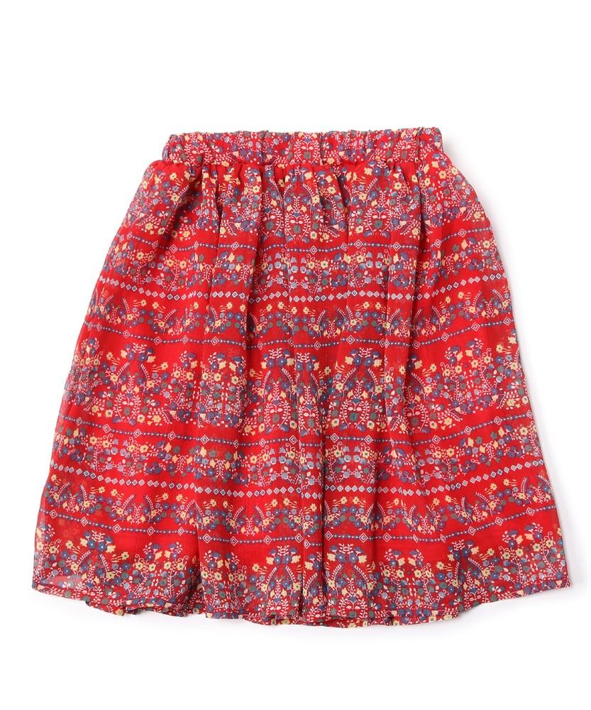 MPS(160) 花柄スカート(ジュニアサイズ160cm) キッズ レッド