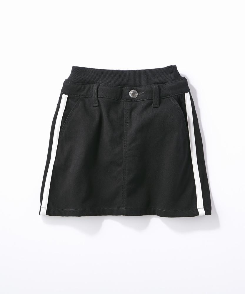 MPS(160) ラインスカート(ジュニアサイズ160cm) キッズ ブラック