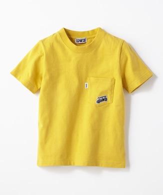EDWIN 【予約】ワンポイントTシャツ キッズ イエロー