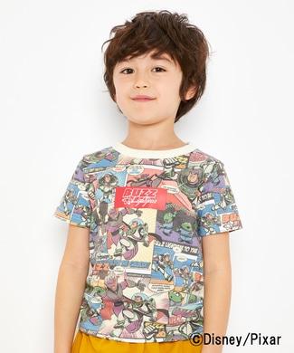 DISNEY プリントTシャツ(トイ・ストーリー) キッズ レッド