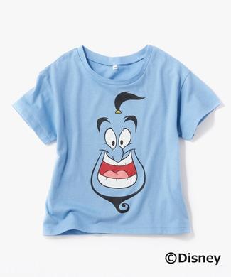 DISNEY キャラプリントTシャツ(ジーニー) キッズ ブルー