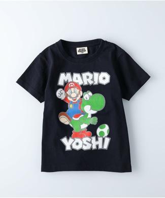 Other プリントTシャツ(マリオ) キッズ ネイビー