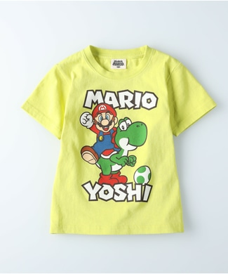 Other プリントTシャツ(マリオ) キッズ ライム