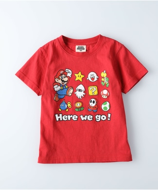 Other プリントTシャツ(マリオ) キッズ レッド