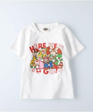 Other プリントTシャツ(マリオ) キッズ ホワイト