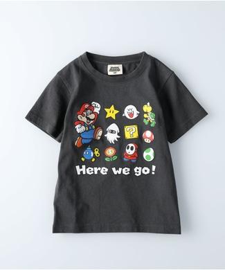 Other プリントTシャツ(マリオ) キッズ ブラック