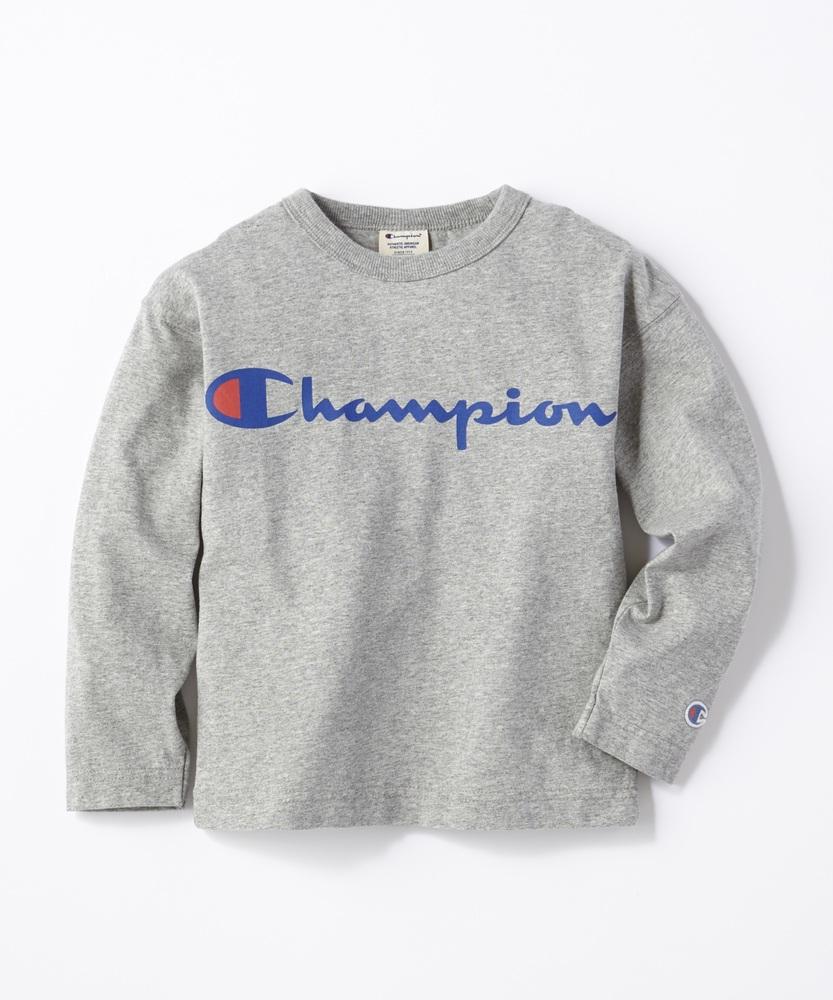 Champion スクリプトロンT キッズ グレー